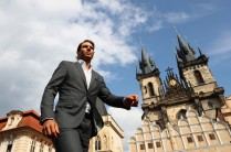 Rafael Nadal of Spain looks on ahead of the Laver Cup on September 20, 2017 in Prague, Czech Republic. The Laver Cup consists of six European players competing against their counterparts from the rest of the World. Europe will be captained by Bjorn Borg and John McEnroe will captain the Rest of the World team. The event runs from 22-24 September. (Sept. 19, 2017 - Source: Clive Brunskill/Getty Images Europe)