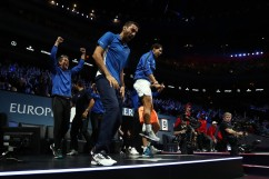 Team Europe have defeated Team World 15-9 to win the inaugural Laver Cup (5)