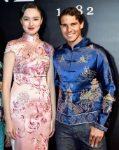 Rafael Nadal of Spain attends the 2017 China Open Player Party at Beijing Olympic Tower on October 1, 2017 in Beijing, China. (Sept. 30, 2017 - Source: Etienne Oliveau/Getty Images AsiaPac)