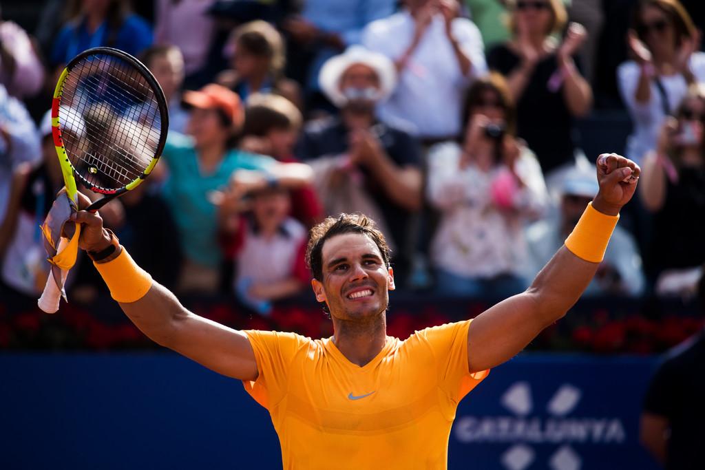 Rafael Nadal beats David Goffin in Barcelona for 400th ...