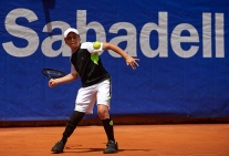 BARCELONA, SPAIN- APRIL 24: ATP Barcelona Open Banc Sabadell at the Real Club de Tenis Barcelona on April 24, 2017 in Barcelona, Spain. (Photo by Manuel Queimadelos)