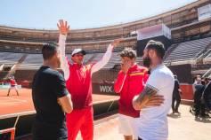 Rafael Nadal shows off football skills in Valencia 2018 Davis Cup Levante UD (5)