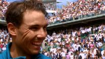 Rafa Nadal beats Simone Bolelli at Roland Garros 2018