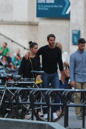 Rafael Nadal and girlfriend Maria Francisca Perello in Paris 2018 (3)