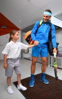Rafael Nadal, Roland Garros 2018, Simple Messieurs, 3eme Tour, Photo : Nicolas Gouhier / FFT