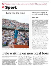 Rafael Nadal French Open 2018 win the front pages (2)