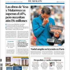 Rafael Nadal on front pages of newspapers across globe (10)