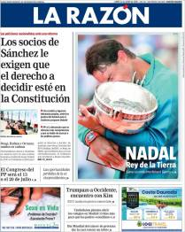 Rafael Nadal on front pages of newspapers across globe (11)