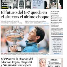 Rafael Nadal on front pages of newspapers across globe (12)