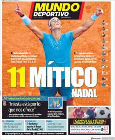 Rafael Nadal on front pages of newspapers across globe (14)