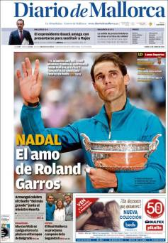Rafael Nadal on front pages of newspapers across globe (5)