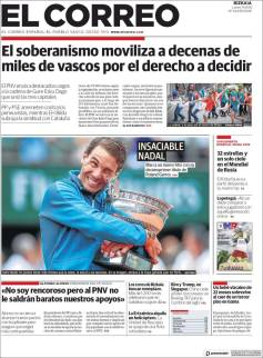 Rafael Nadal on front pages of newspapers across globe (8)