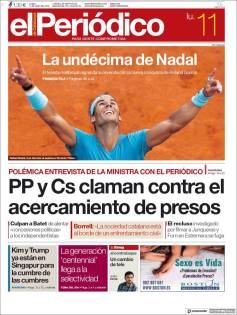 Rafael Nadal on front pages of newspapers across globe (9)