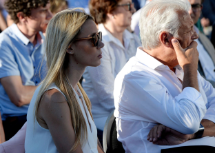 Rafael Nadal sister and father attend graduation of students at his Academy in Mallorca 2018