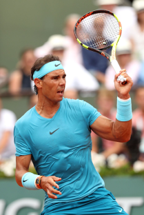 Rafael Nadal vs Dominic Thiem 2018 Roland Garros final photo (11)
