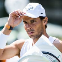 PK107 WIMB. London (United Kingdom), 01/07/2018.- Rafael Nadal of Spain arrives for a training session at the All England Lawn Tennis Championships in Wimbledon, London, Britain, 01 July 2018. The Wimbledon Tennis Championships 2018 will be held in London from 02 July to 15 July. (España, Londres, Tenis, Inglaterra) EFE/EPA/PETER KLAUNZER EDITORIAL USE ONLY/NO SALES/NO ARCHIVES