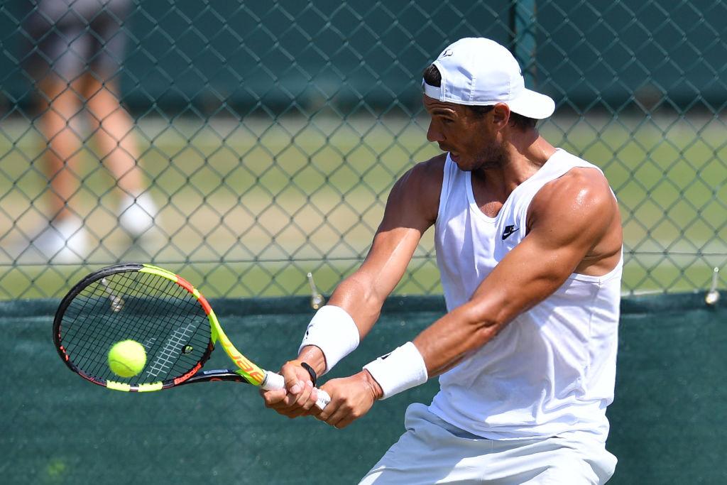Wimbledon 2018: Sunday practice photos – Rafael Nadal Fans