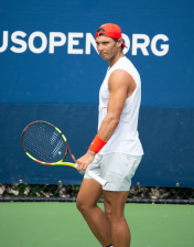 Nadal practicing 2018 US Open (14)