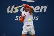 Rafael Nadal practices in New York City 2018 US Open photo (10)