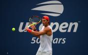 Rafael Nadal practices in New York City 2018 US Open photo (12)