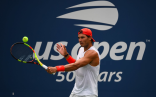 Rafael Nadal practices in New York City 2018 US Open photo (14)