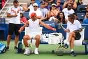 Rafael Nadal practices in New York City 2018 US Open photo (2)