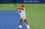 Rafael Nadal practices in New York City 2018 US Open photo (3)