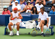 Rafael Nadal practices in New York City 2018 US Open photo (5)