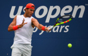 Rafael Nadal practices in New York City 2018 US Open photo (6)