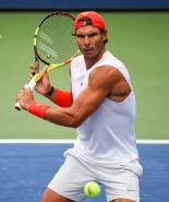 Rafael Nadal practices in New York City 2018 US Open photo (7)
