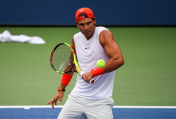 Rafael Nadal practices in New York City 2018 US Open photo (9)
