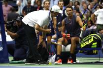 Rafael Nadal retires hurt against Juan Martin del Potro at US Open 2018 (15)