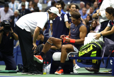 Rafael Nadal retires hurt against Juan Martin del Potro at US Open 2018 (16)