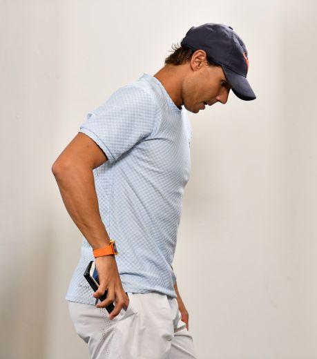 EPA2217. BRISBANE (AUSTRALIA), 02/01/2019.- El tenista español Rafael Nadal abandona la sala tras anunciar en rueda de prensa su retirada del torneo internacional de tenis de Brisbane (Australia) hoy, 2 de enero de 2019. EFE/ Darren England SOLO USO EDITORIAL PROHIBIDO SU USO EN AUSTRALIA Y NUEVA ZELANDA