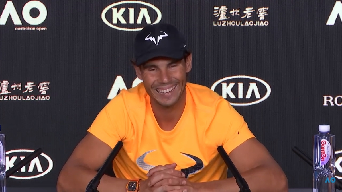 Rafa's popularity is not going down in Australia