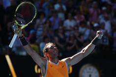 rafa nadal beats tomas berdych to reach australian open quarterfinals 2019 (2)