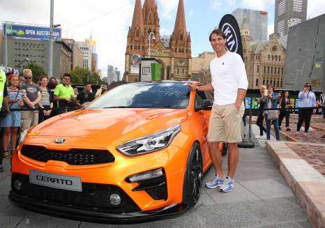 rafael nadal at kia event in melbourne 2019 photo (2)
