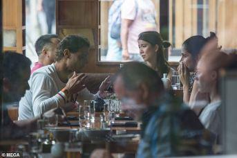rafael nadal having lunch with maria francisca perello in melbourne 2019 australia (6)