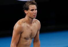 Tennis - Australian Open - Quarter-final - Melbourne Park, Melbourne, Australia, January 22, 2019. Spain's Rafael Nadal after winning the match against Frances Tiafoe of the U.S. REUTERS/Kim Kyung-Hoon