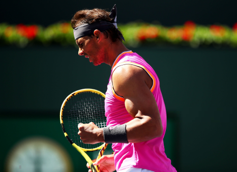 Rafael Nadal reaches Indian Wells quarterfinals in straight sets (1)