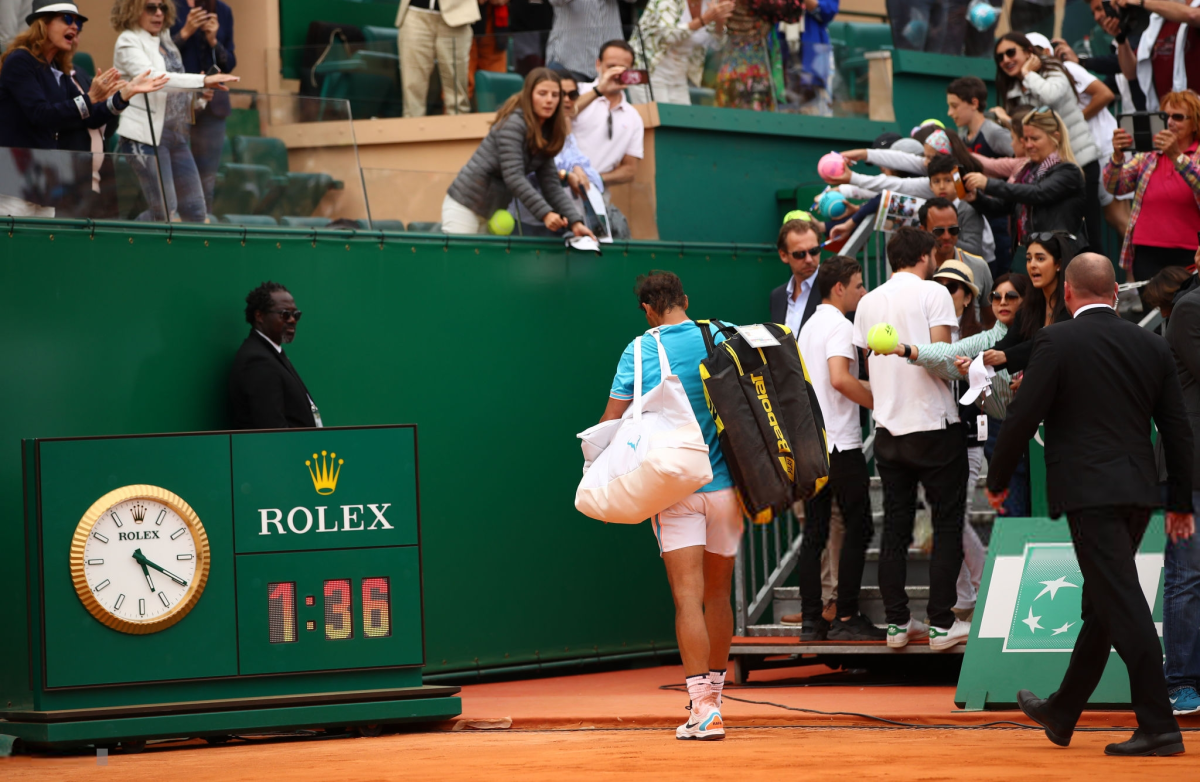 PHOTOS: Rafael Nadal falls to Fabio Fognini at Monte Carlo