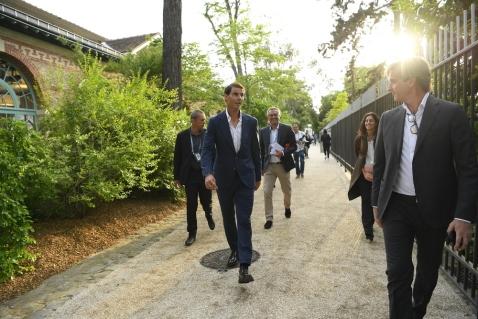 Rafael Nadal, Tirage au Sort, Roland Garros 2019, Photo : Julien Crosnier / FFT