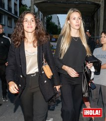 Rafael Nadal girlfriend Maria Francisca Perello and sister Maria Isabel Nadal after Roland Garros 2019 victory at dinner in Paris
