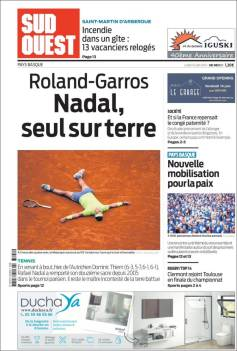 Rafael Nadal's Roland Garros Victory On Newspaper Front Pages (1)