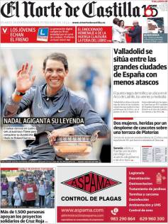 Rafael Nadal's Roland Garros Victory On Newspaper Front Pages (17)