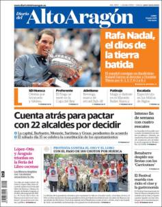 Rafael Nadal's Roland Garros Victory On Newspaper Front Pages (20)