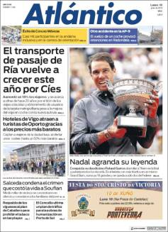 Rafael Nadal's Roland Garros Victory On Newspaper Front Pages (22)