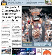 Rafael Nadal's Roland Garros Victory On Newspaper Front Pages (23)