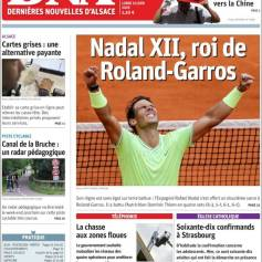 Rafael Nadal's Roland Garros Victory On Newspaper Front Pages (3)