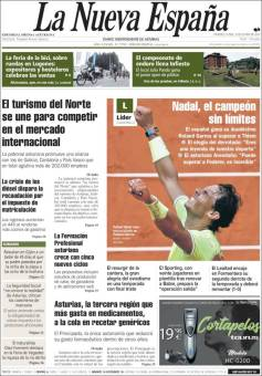 Rafael Nadal's Roland Garros Victory On Newspaper Front Pages (31)